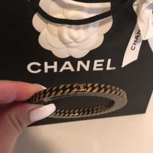 Chanel CC bracelet bangle
